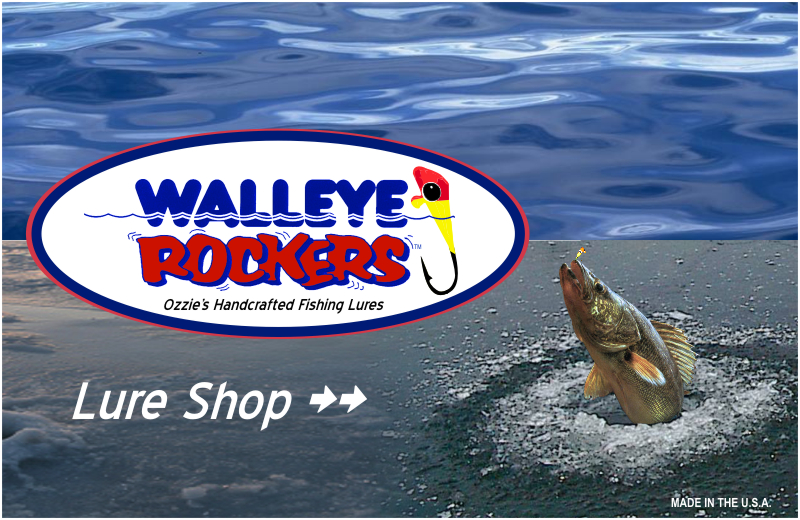 Walleye Rockers Fishing Lures